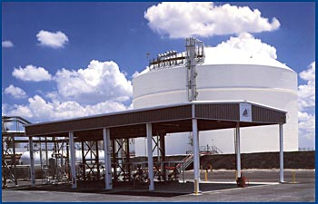 Refrigerated LPG terminal completed in 2000